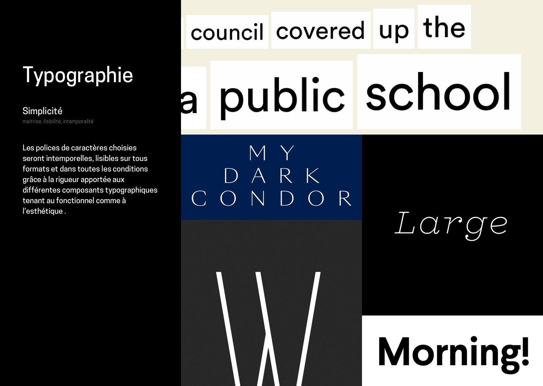 TypographieSimplicité